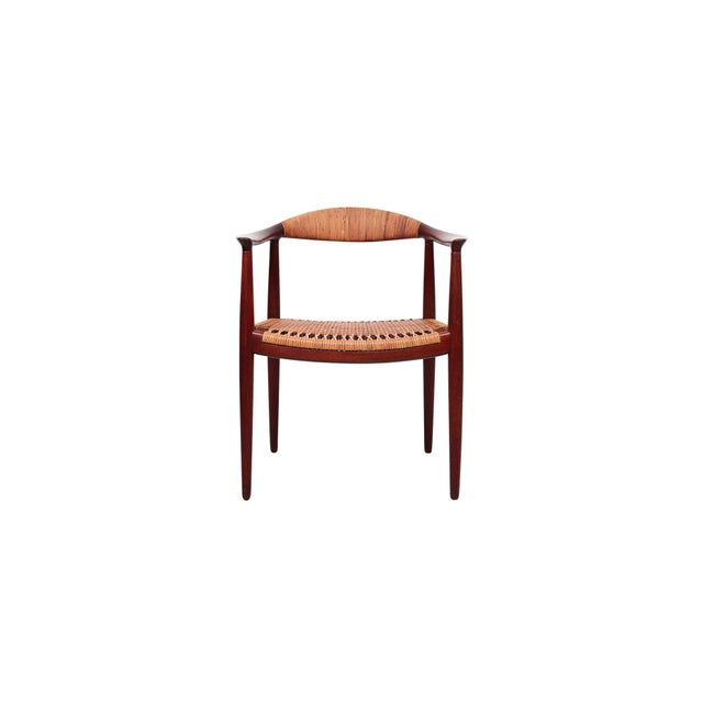 Hans Wegner Classic Cane Chair For Sale - Image 13 of 13