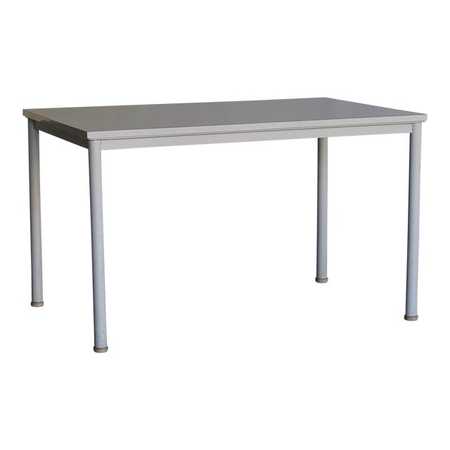 1935 Le Corbusier Steel & Wood Desk/Table For Sale