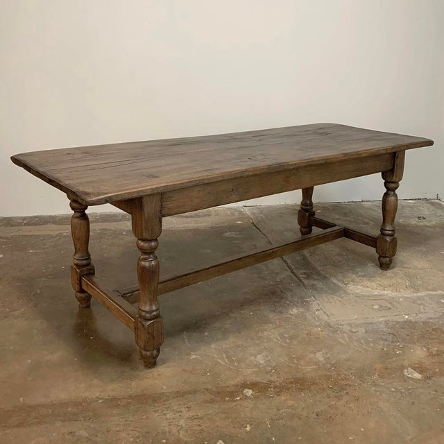 Farm Table, 19th Century Country French Oak For Sale - Image 10 of 12