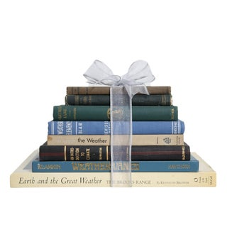 Vintage Book Gift Set: The Weather Enthusiast For Sale
