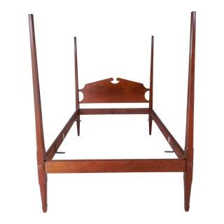 Custom Vintage Mahogany Full Size Poster Bed