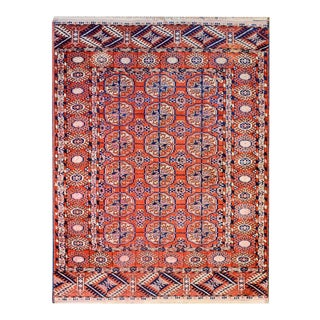 Amazing Early 20th Century Tekeh Rug For Sale
