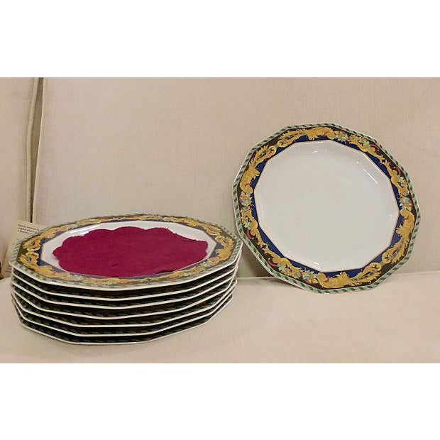 Rosenthal for Versace Plates - Set of 8 - Image 8 of 9