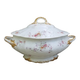 Haviland Limoges Victorian Porcelain Soup Tureen For Sale