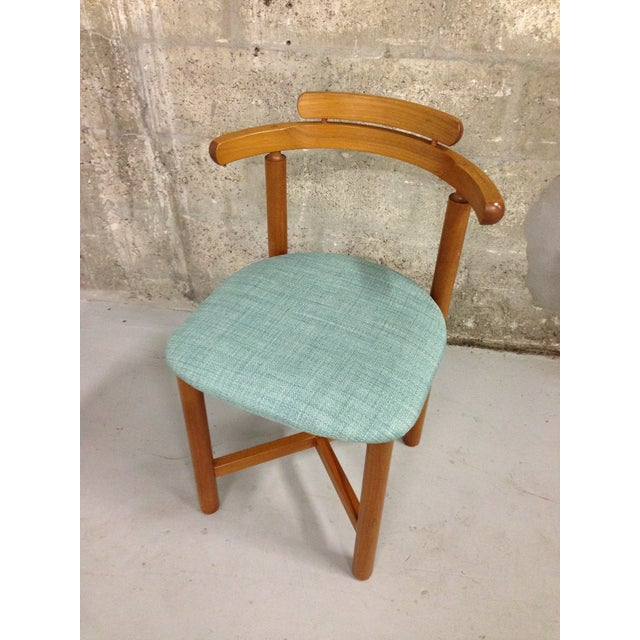 Vintage Danish Mid Century Modern Dining Chair - Image 5 of 9