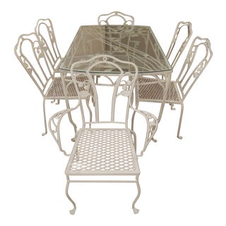 Salterini Wrought Iron Dining Set For Sale