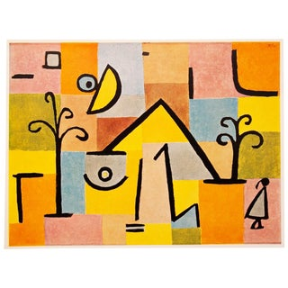 "1958 Vintage Paul Klee ""Oriental-Sweet"" Lithograph Print For Sale"