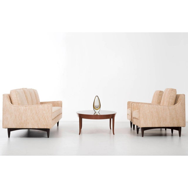 Pair of Woven Lounge Chairs For Sale - Image 10 of 14