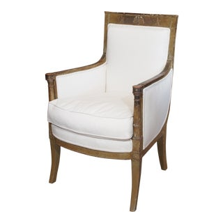 Late 18th Century French Empire Bergere