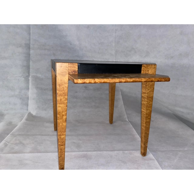 Wood 19th Century Biedermeier Occasional Table For Sale - Image 7 of 8