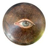 Image of Antique Wooden Geisha Powder Eye Box For Sale