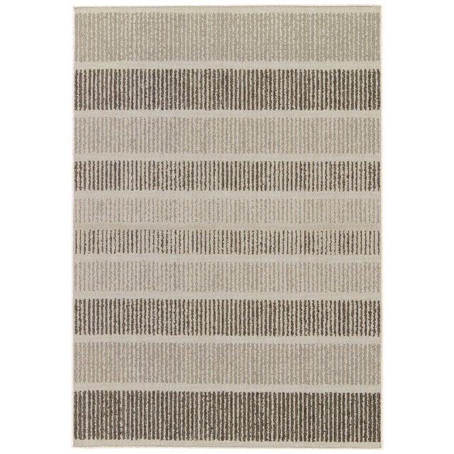 Jaipur Living Cado Indoor/ Outdoor Striped Area Rug - 7′6″ × 9′6″ For Sale