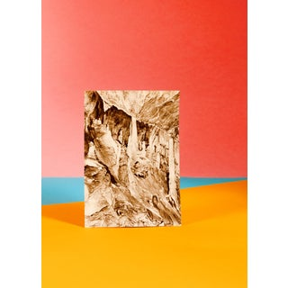 Seafront Landscape With Rocks, Conceptual Photography, Lively Colors Cave, 50x70 CM Limited Edition For Sale