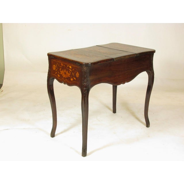 Early 19th Century 19th Century French Marquetry Podruse For Sale - Image 5 of 13