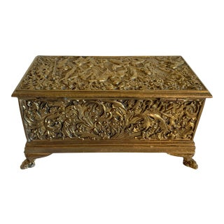 19th Century Antique Erhard & Sohne Bronze Box For Sale