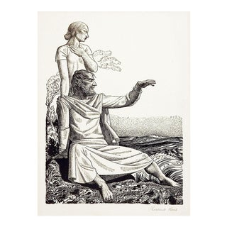 Rockwell Kent the Tempest Lithograph For Sale