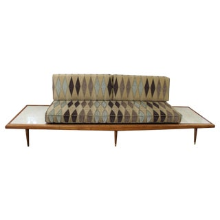 Mid Century Modern Adrian Pearsall Floating Sofa For Sale