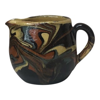French Pottery Pitcher Circa 1890 For Sale