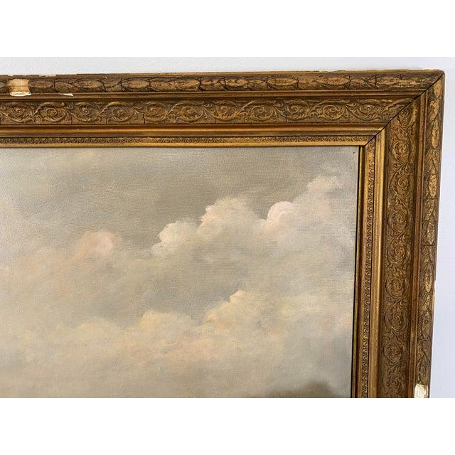 Antique Framed Hunt Scene Painting For Sale In Atlanta - Image 6 of 13