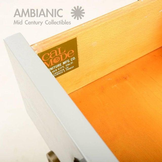 Mid-Century Modern Cal Mode Dresser For Sale - Image 9 of 9