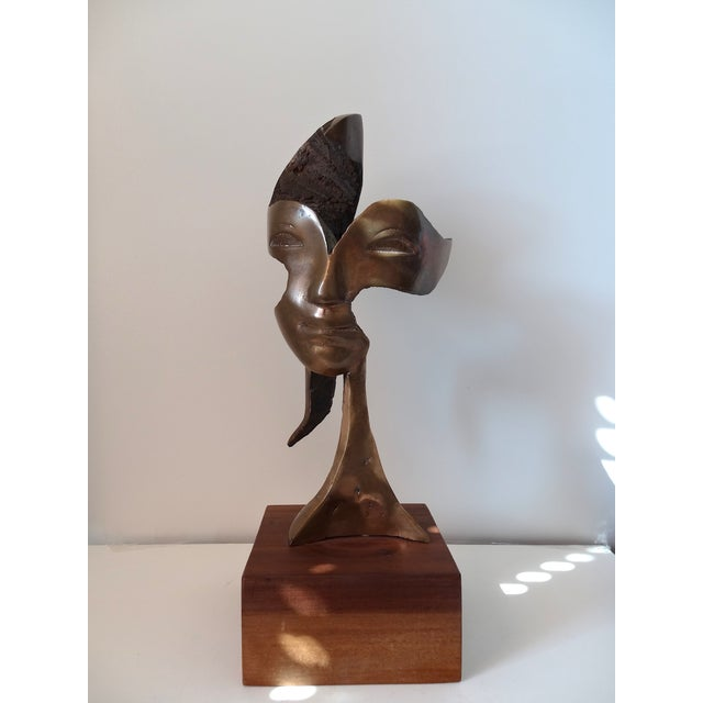 """Orchid,"" Bronze Sculpture by JK Labret - Image 2 of 8"