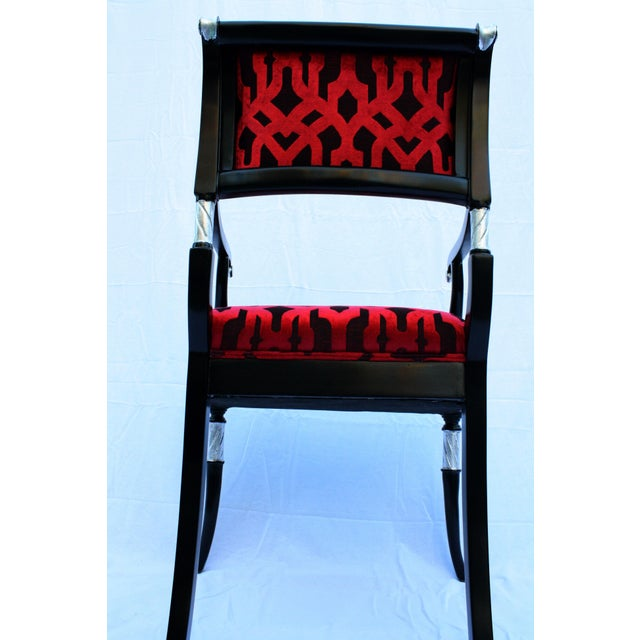 Italian Accent Chair For Sale In Los Angeles - Image 6 of 6
