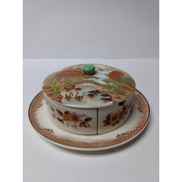 European Porcelain Coffee Service Bowl For Sale - Image 13 of 13