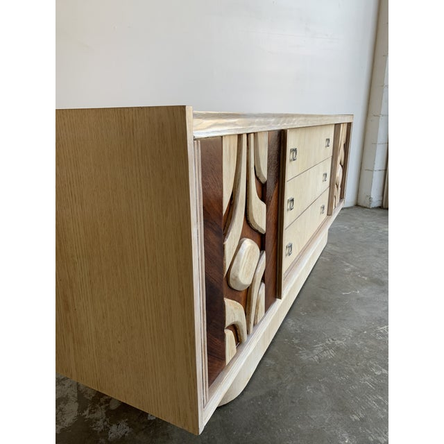 1970s Canadian Brutalist Sideboard For Sale - Image 12 of 13