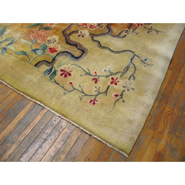 Art Deco Antique Chinese Art Deco Rug-11′6″ × 16′8″ For Sale - Image 3 of 7