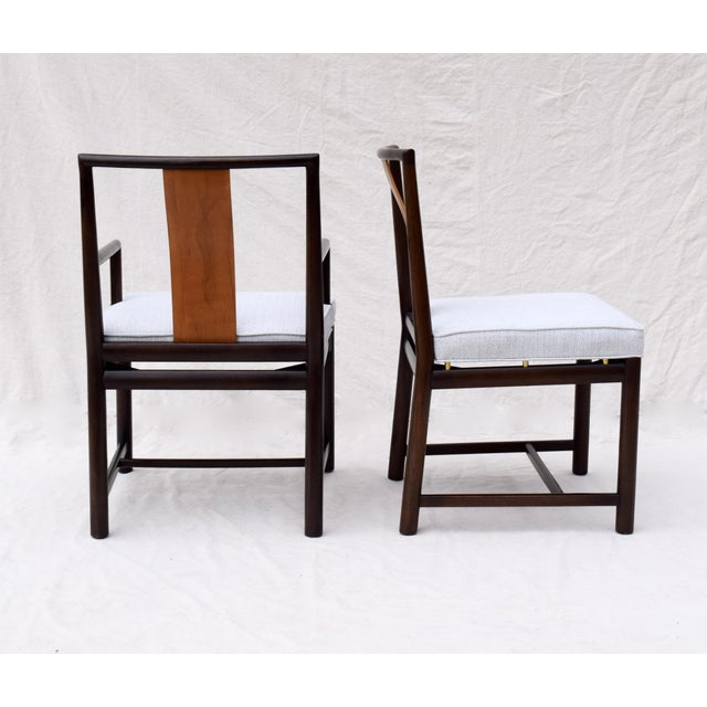 1960s Vintage John Stuart Dining Chairs- Set of 14 For Sale - Image 11 of 13
