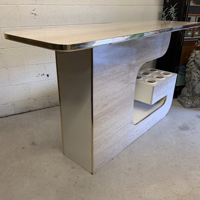 Mid-Century Modern Groovy 1970s Bar For Sale - Image 3 of 13