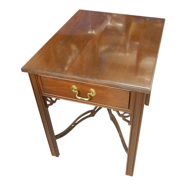Ethan Allen Georgian Court Side Table - Image 1 of 3