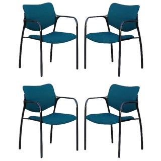 Set of 4 Modern Dining Chairs by Mark Goetz for Herman Miller For Sale