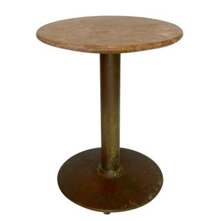 Antique Marble Top Cafe Bistro Table Preview