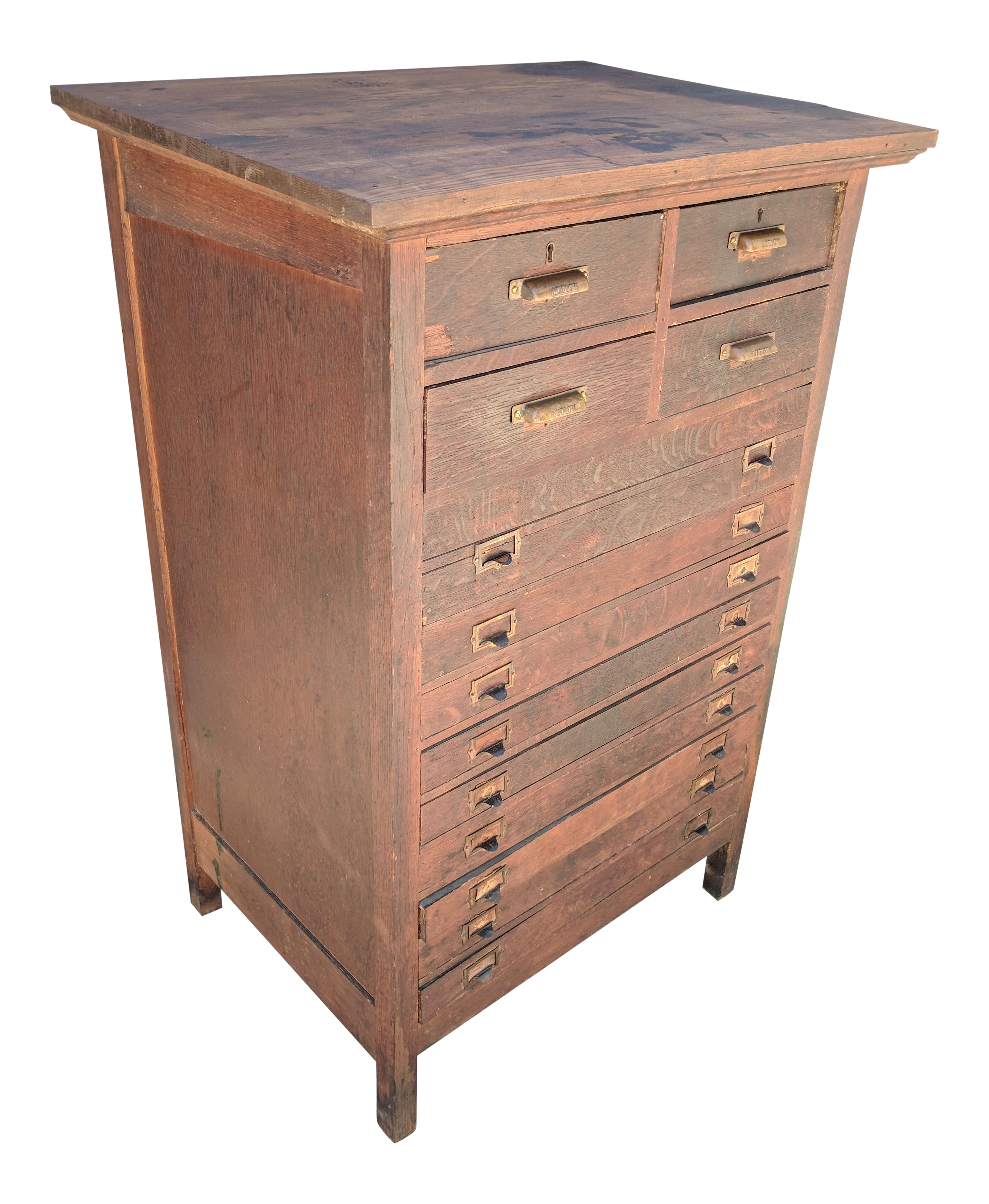 Vintage & Used Industrial Filing Cabinets