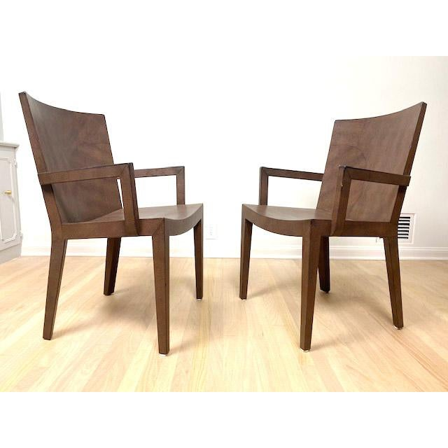 1980s Vintage Karl Springer Jmf Lizard Skin Chairs - a Signed Pair For Sale - Image 12 of 12