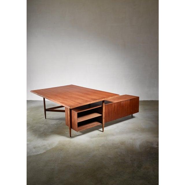 Mid-Century Modern Pierre Jeanneret Chandigarh Desk, 1950s For Sale - Image 3 of 6