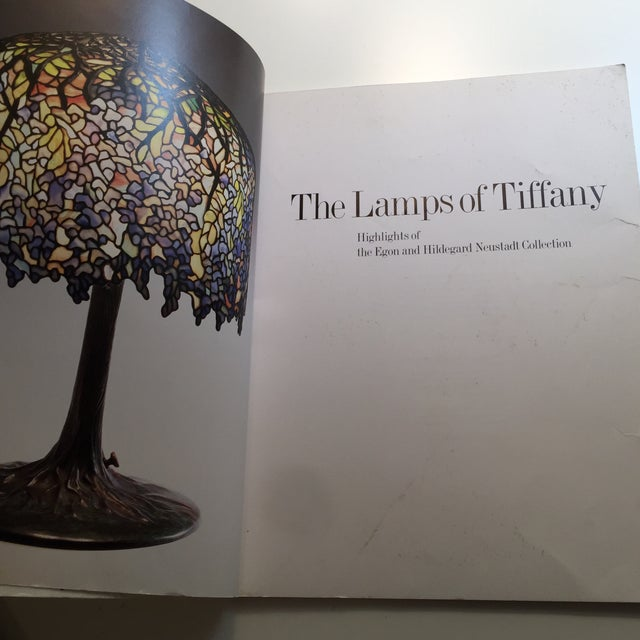 1993 The Lamps of Tiffany Book For Sale - Image 4 of 11