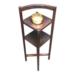 1930s Art Deco Smoking Stand Side Table For Sale