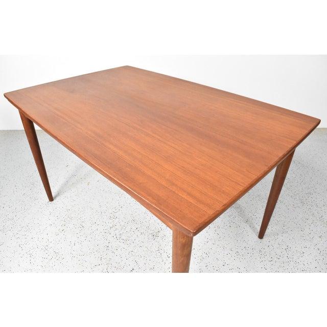 Danish Modern Mid-Century Skovmand Andersen Teak Dining Table For Sale - Image 3 of 8