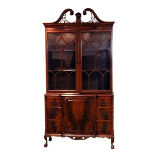 Georgian Style China Cabinet