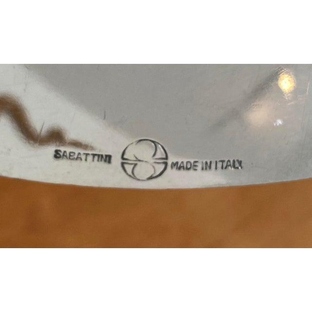 Vintage Sabattini Sayala Baguette Form Serving Dish Silver Plate from a Palm Beach estate.