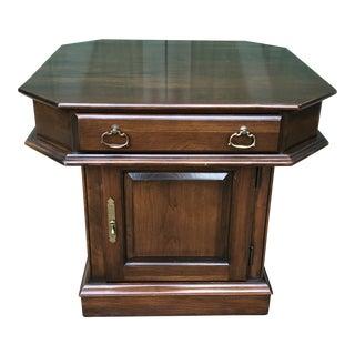 Vintage Harden Square End Table For Sale