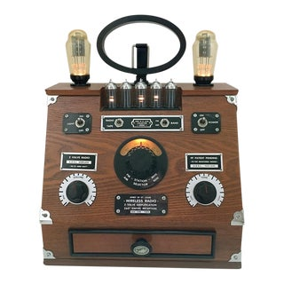 Antique Lindbergh era Radio Replica For Sale