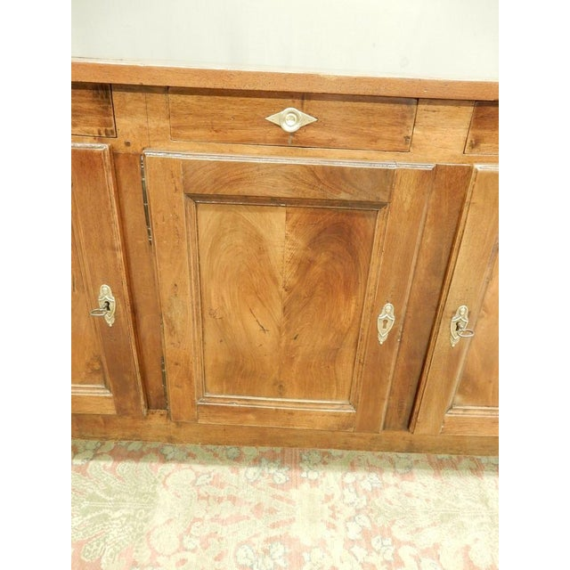 Early 19th French Walnut Enfilade For Sale - Image 4 of 11