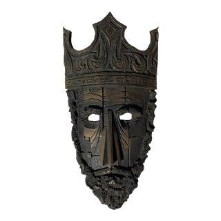 Mid-Century Brutalist Mask For Sale