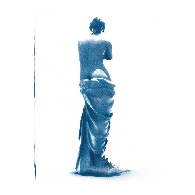 Venus de Milo Greek Sculpture Cyanotype Print - Image 1 of 5
