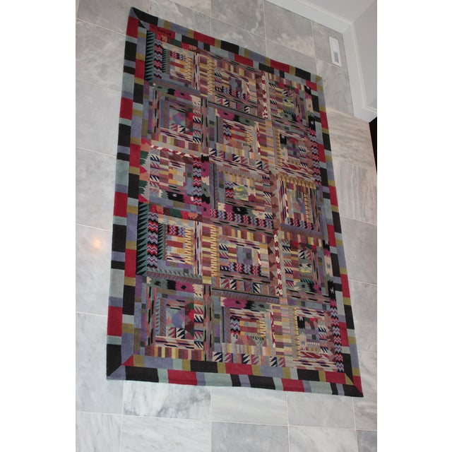 Missoni Area Rug. Purchased at a charity auction. The rug is great quality and beautiful colors.