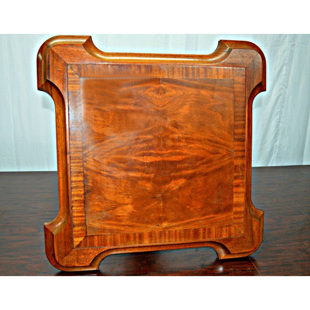 Vintage Wooden Side Table For Sale In Miami - Image 6 of 7