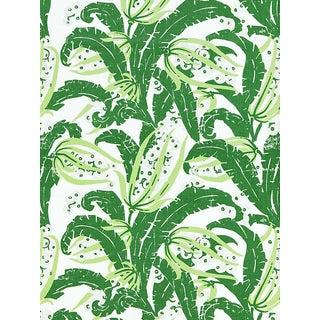 Sample, Scalamandre Tropique, Palm Fabric For Sale